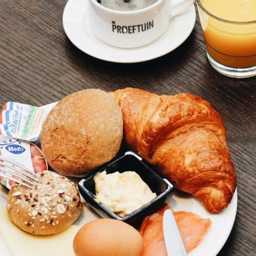 Ontbijt in De Proeftuin