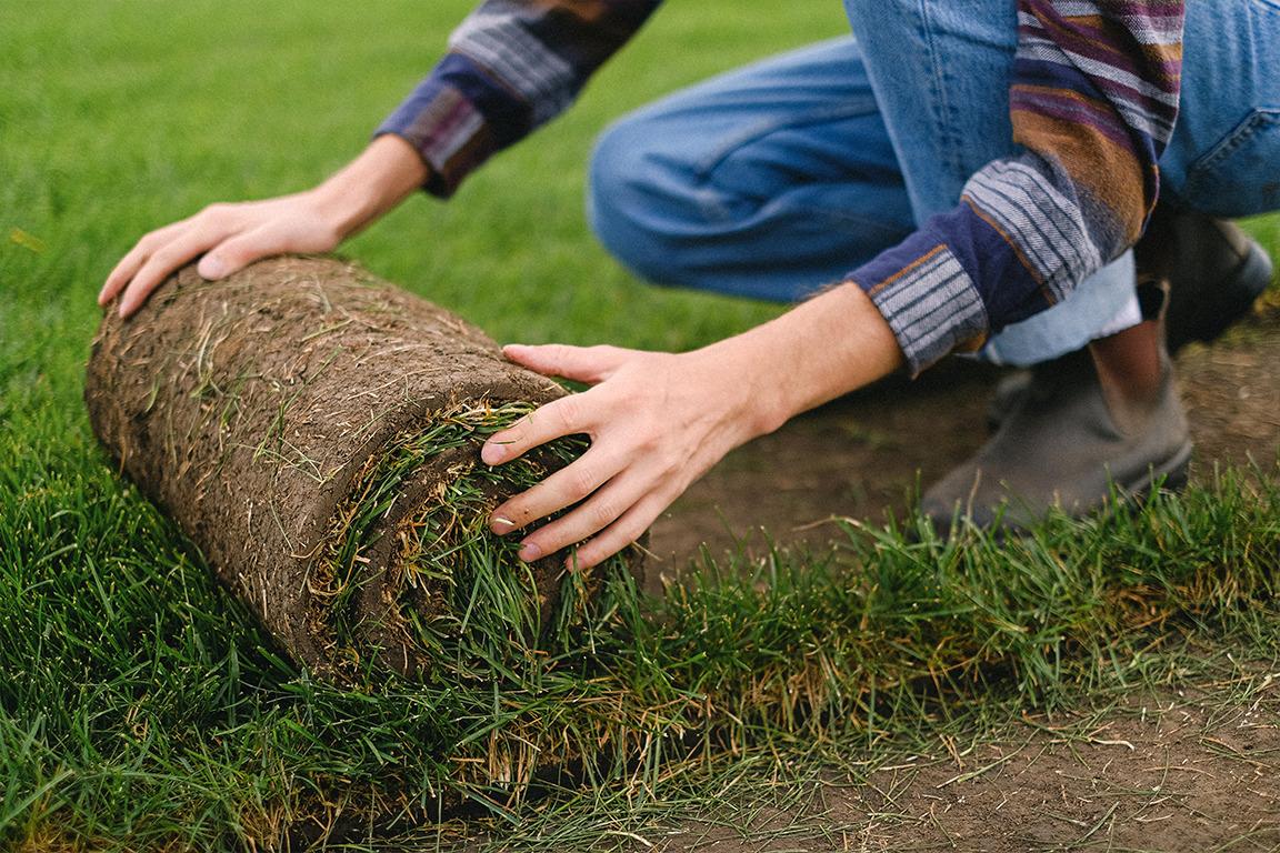 Graszoden leggen in 7 stappen